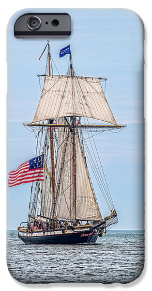 Pirate Ship iPhone Cases - The Lynx iPhone Case by Dale Kincaid