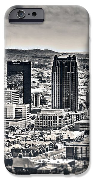 The Magic City BW iPhone Case by Ken Johnson