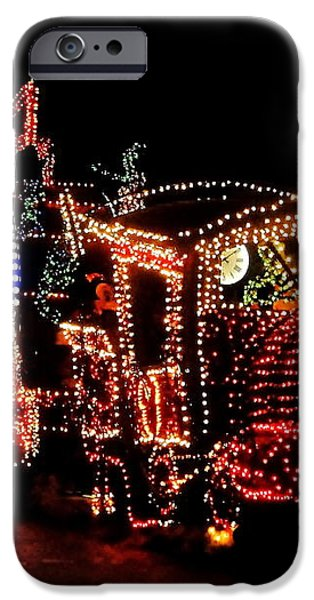 The Main Street Electrical Parade iPhone Case by Benjamin Yeager