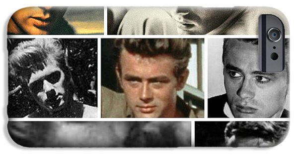 1955 Movies Photographs iPhone Cases - James Dean The Many Faces iPhone Case by Jay Milo