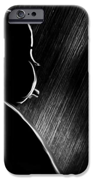 THE MASTER OF SUSPENSE iPhone Case by Bob Orsillo