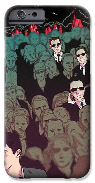 Against The War iPhone Cases - The Matrix alternative movie poster iPhone Case by Edwin Urena