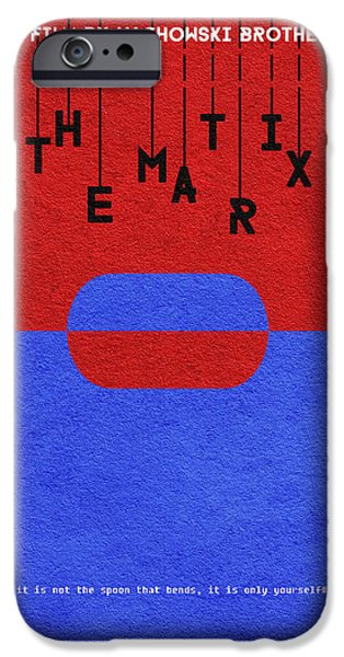 Pill iPhone Cases - The Matrix iPhone Case by Ayse Deniz