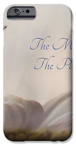 The Meaning of Life iPhone Case by Lori Deiter