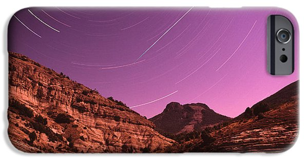 Moonscape iPhone Cases - The Meteor iPhone Case by Boris Pophristov