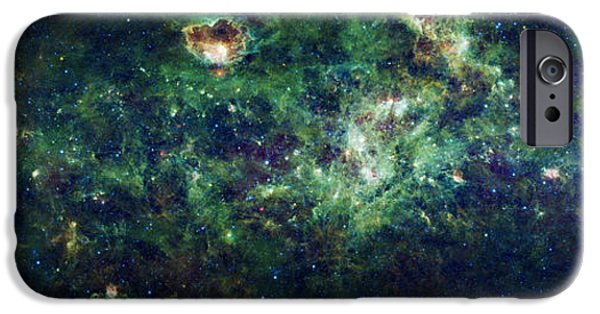 Modern Abstract iPhone Cases - The Milky Way iPhone Case by Adam Romanowicz