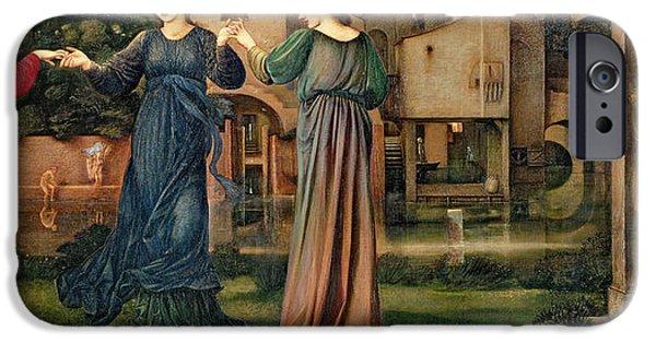 Pre-raphaelites iPhone Cases - The Mill iPhone Case by Sir Edward Burne-Jones