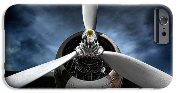 Planes Photographs iPhone Cases - The Mission iPhone Case by Olivier Le Queinec