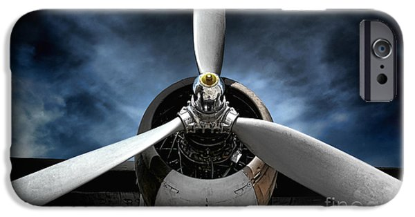 Storm Photographs iPhone Cases - The Mission iPhone Case by Olivier Le Queinec