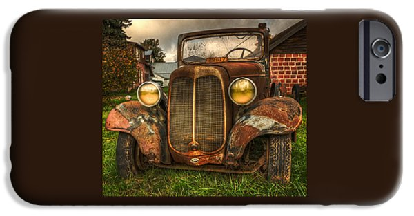 Automotive iPhone Cases - The Molalla Truck iPhone Case by Thom Zehrfeld