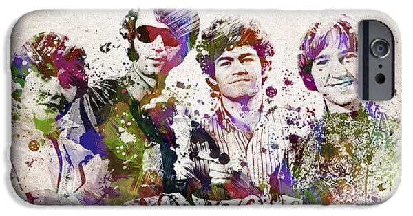 Daydream iPhone Cases - The Monkees iPhone Case by Aged Pixel