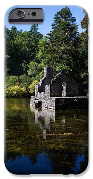Antiquated iPhone Cases - The Monks Fishing House, Part Of Cong iPhone Case by Panoramic Images