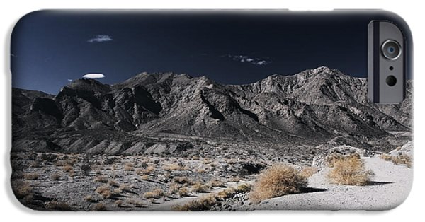 Brush Photographs iPhone Cases - The Mood Im In iPhone Case by Laurie Search