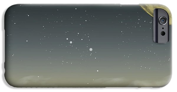 Wonderous iPhone Cases - The Moon Lagoon iPhone Case by Brian Wallace