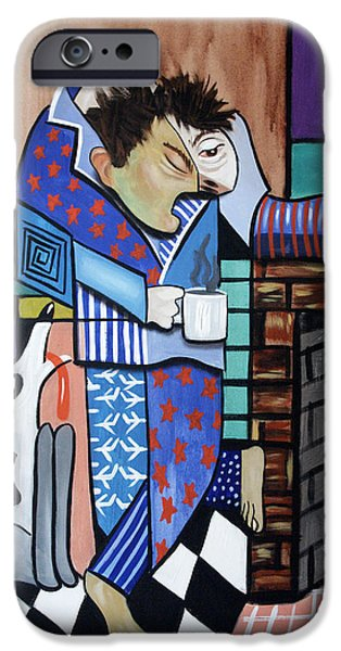 Matting iPhone Cases - The Morning After iPhone Case by Anthony Falbo
