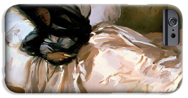 Slumber iPhone Cases - The Mosquito Net iPhone Case by John Sargent
