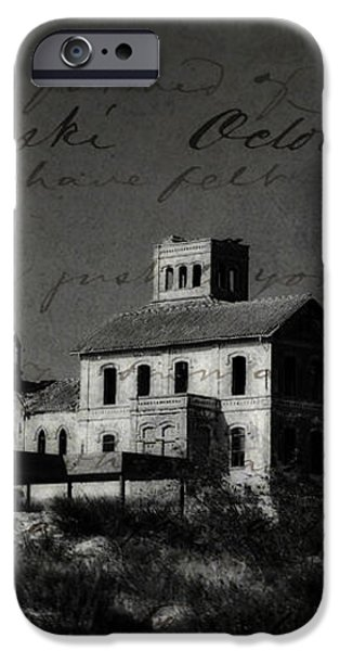 The Most Haunted House in Spain. Casa Encantada. Welcome to the Hell iPhone Case by Jenny Rainbow