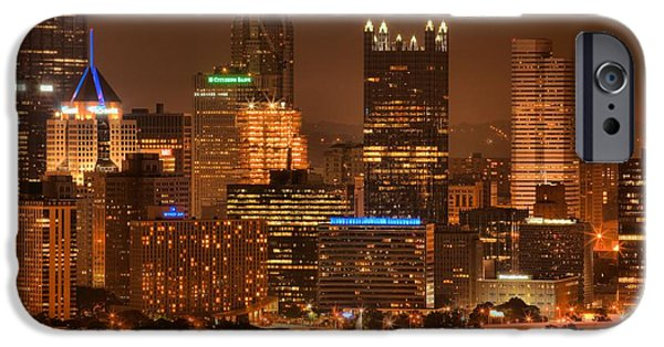 City Scape iPhone Cases - The Most Livable City iPhone Case by Adam Jewell