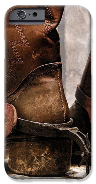 The Muddy Boots iPhone Case by Olivier Le Queinec
