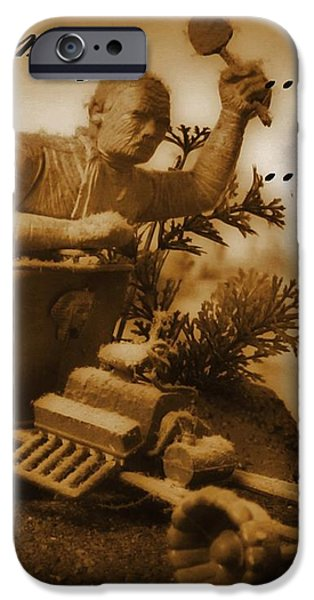 The Mummy Rides in Halifax iPhone Case by John Malone