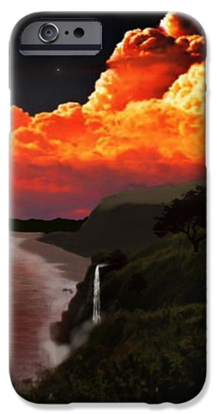 The Mussenden Temple - Ireland iPhone Case by Michael Rucker