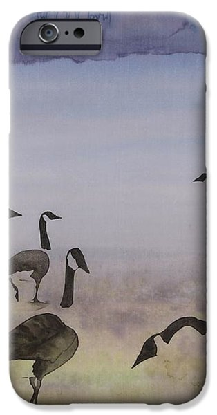The Mysteries of Miration 2 iPhone Case by Carolyn Doe