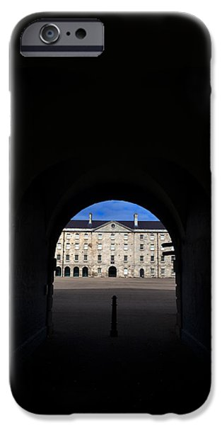 Collins iPhone Cases - The National Museum Of Ireland, Archway iPhone Case by Panoramic Images