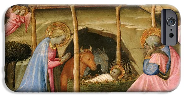 Paolo iPhone Cases - The Nativity iPhone Case by Paolo Schiavo