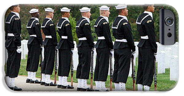 Cora Wandel iPhone Cases - The Navy Ceremonial Guard iPhone Case by Cora Wandel