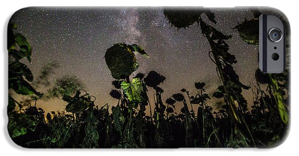 Plant iPhone Cases - The Night of the Triffids iPhone Case by Aaron J Groen