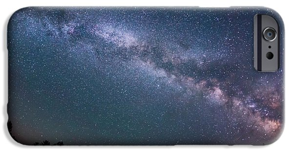 Michael Versprill iPhone Cases - The Night Sky iPhone Case by Michael Ver Sprill