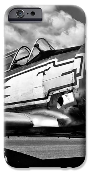 The North American T-6 Texan iPhone Case by David Patterson