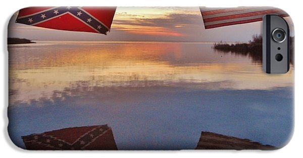 Recently Sold -  - Sailboats iPhone Cases - The North and The South iPhone Case by Mark Lemmon