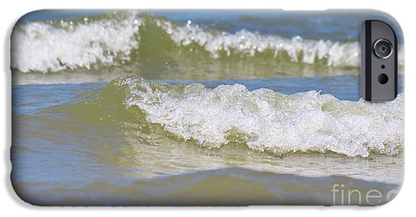 North Sea iPhone Cases - The North Sea iPhone Case by Angela Doelling AD DESIGN Photo and PhotoArt