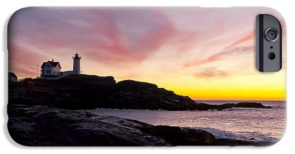 Nubble Lighthouse iPhone Cases - The Nubble iPhone Case by Steven Ralser