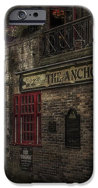 The Old Anchor Pub iPhone Case by Erik Brede