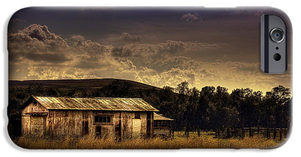 Barns iPhone Cases - The Old Barn iPhone Case by Marvin Spates