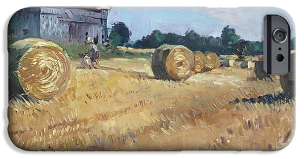 Barns iPhone Cases - The Old Barns in Georgetown ON iPhone Case by Ylli Haruni