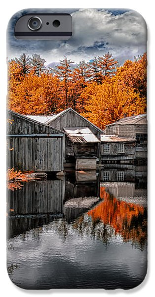 The Old Boat House iPhone Case by Bob Orsillo