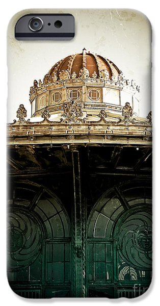Original Photography iPhone Cases - The Old Carousel House iPhone Case by Colleen Kammerer