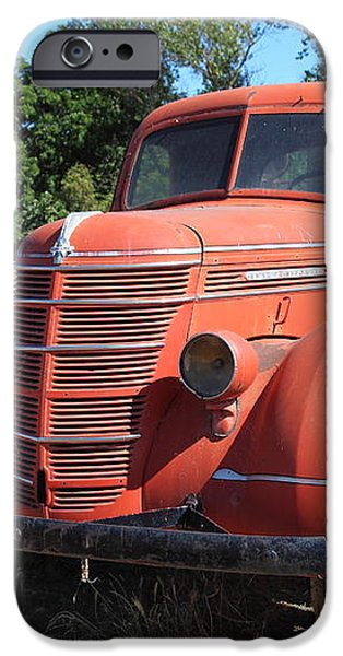 The Old Farm Truck 5D23971 iPhone Case by Wingsdomain Art and Photography