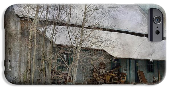 Feed Mill Photographs iPhone Cases - The Old Feed Mill iPhone Case by Cynthia Nichols