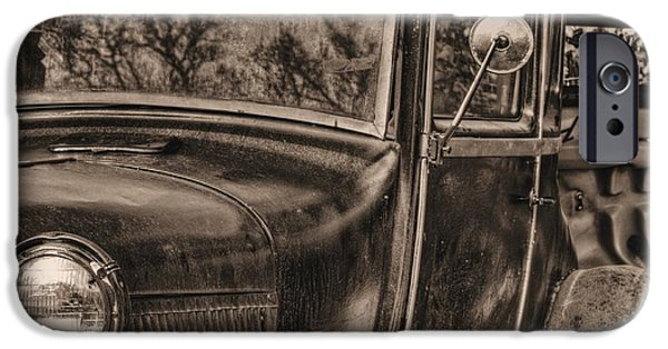 Antiques iPhone Cases - The Old Ford iPhone Case by JC Findley