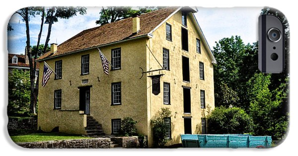 Grist Mill iPhone Cases - The Old Grist Mill  Paoli Pa. iPhone Case by Bill Cannon