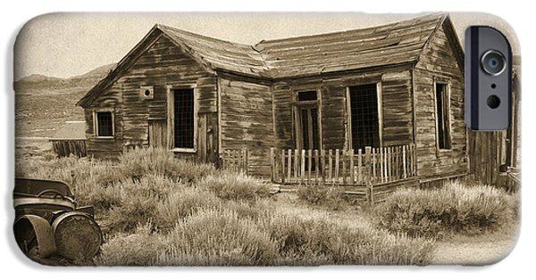 Nineteenth iPhone Cases - The Old Homestead iPhone Case by Bill Jonas