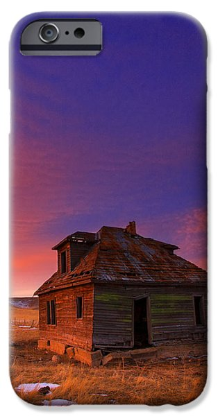House iPhone Cases - The Old House iPhone Case by Kadek Susanto