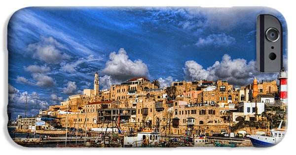 Spectacular iPhone Cases - the old Jaffa port iPhone Case by Ron Shoshani
