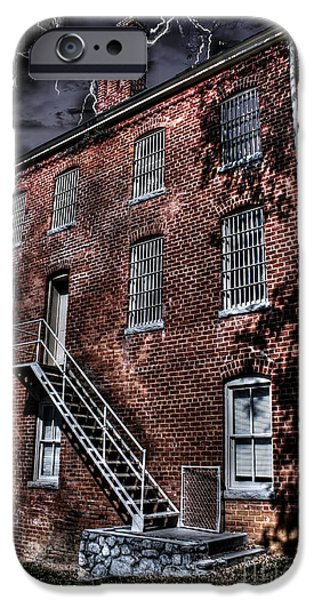 The Old Jail iPhone Case by Dan Stone