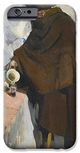 1907 Paintings iPhone Cases - The Old Man Of Castille iPhone Case by Joaquin Sorolla
