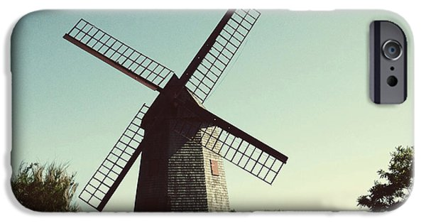 Nantucket iPhone Cases - The Old Mill 1746 iPhone Case by Natasha Marco
